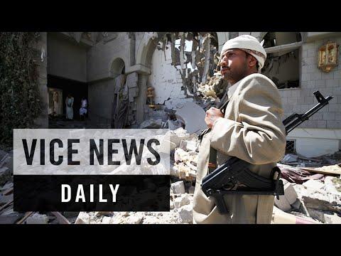 VICE News Daily: Saudi Bombs Former Yemen President's Residence