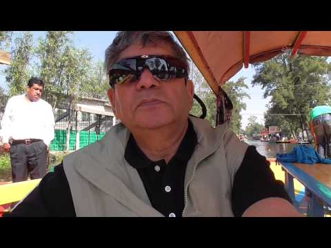 A ride in the famous Trajineras with a local guide  Mexico city Arif Herekar