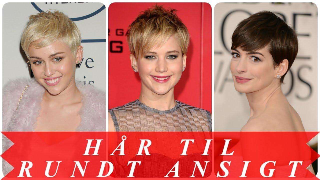 korte frisurer til rundt ansigt