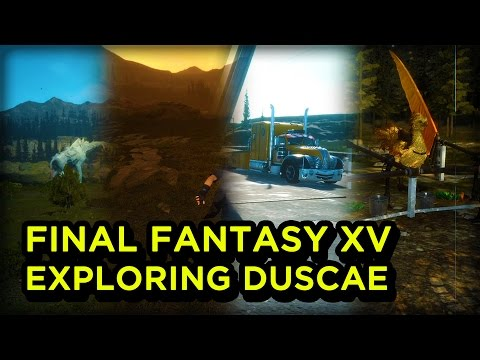 Exploring duscae hd gameplay final fantasy xv youtube