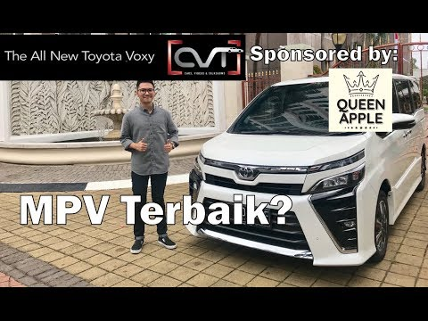 CVT Review #13: All New Toyota Voxy 2018 Indonesia | Sponsored by: QUEEN APPLE |