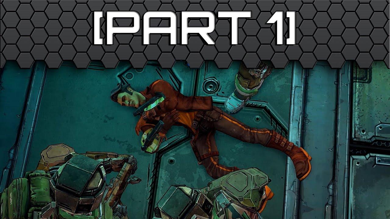 Borderlands  The Pre-sequel  - True Vault Hunter Mode Walkthrough - Part 1  60fps