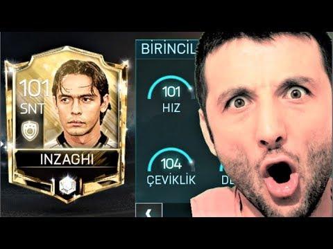 İKON İNZAGHİ 'mi 101 GEN YAPTIM !! 5 MİLYON COİNS 2.5 MİLYON XP HARCADIM !! Fifa Mobile