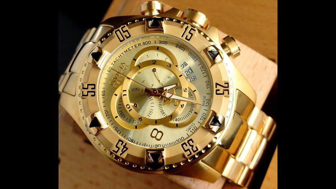 fc54a657d7f Relógio invicta 6471 diferenças original vs réplica - YouTube