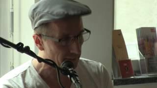 Lesung und Konzert mit Hans Platzgumer und Chris Laine.