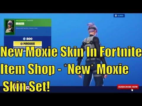 New Moxie Skin In Fortnite Item Shop - *New* Moxie Skin Set! Fortnite Item Shop September 15