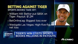 Tiger Woods' win costs sports books millions in payouts