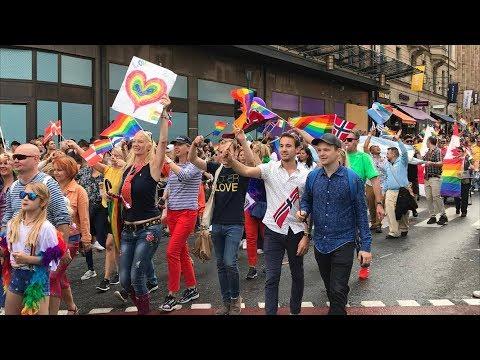 QX Stockholm Pride Parade 2017