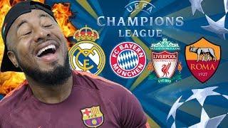 2017/18 UEFA Champions League Semi Finals Previews and Predictions