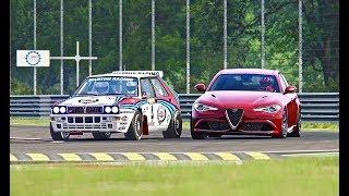 Alfa Romeo Giulia Quadrifoglio vs Lancia Delta Evoluzione GR.A