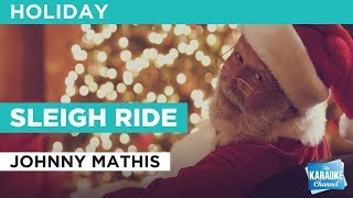 Sleigh Ride in the style of Johnny Mathis   Karaoke with Lyrics