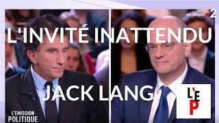 L'invité inattendu de Jean-Michel Blanquer : Jack Lang dans L'Emission politique (France 2)