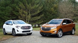 2018 GMC Terrain Vs Chevy Equinox 2018