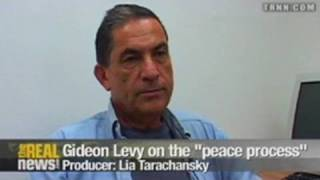 "Gideon Levy - the ""peace process"" is a joke Pt2"