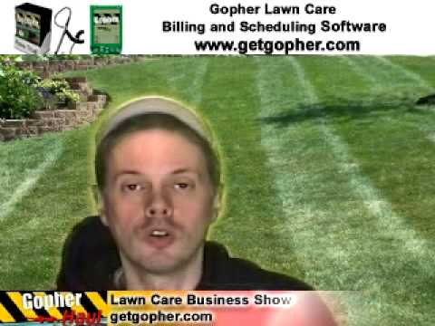 Two simple lawn care business success tips. - GopherHaul 54 Lawn Care Marketing Show