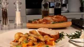 Recipe: Quick Chicken, Potato And Butternut Bake
