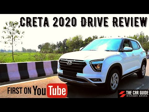 Hyundai Creta 2020 Drive Review DIESEL EX 🔥 First Drive or Test Drive 🔥 Creta 2020 DIESEL Base Model