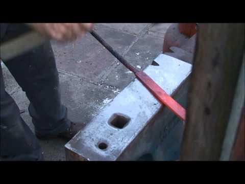 Part 2 ..Forging a Damascus penknife.