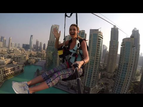 TV Presenter Rescued from Dubai Zip Line