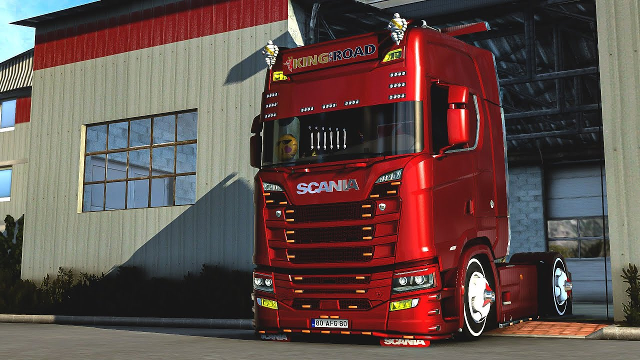 Scania S Faça Modifiye | Euro Truck Simulator 2 | 1.40 Mega Mod