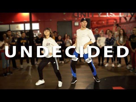 "CHRIS BROWN - ""UNDECIDED""  Matt Steffanina  & Bailey Sok Dance Choreography"