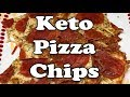 Keto Snack (Low Carb): Pizza Chips