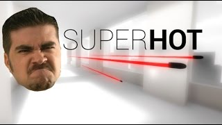 AngryJoe plays SUPERHOT!
