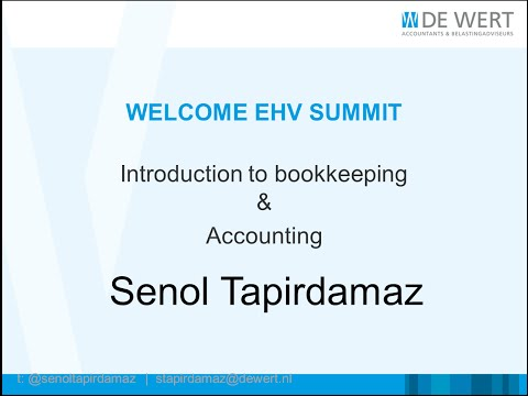 Introduction to Bookkeeping and Accounting
