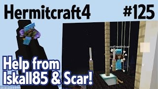 Help from Iskall85 & Good Time(s) With Scar(King of Pride Rock)! — Hermitcraft 4 ep 125