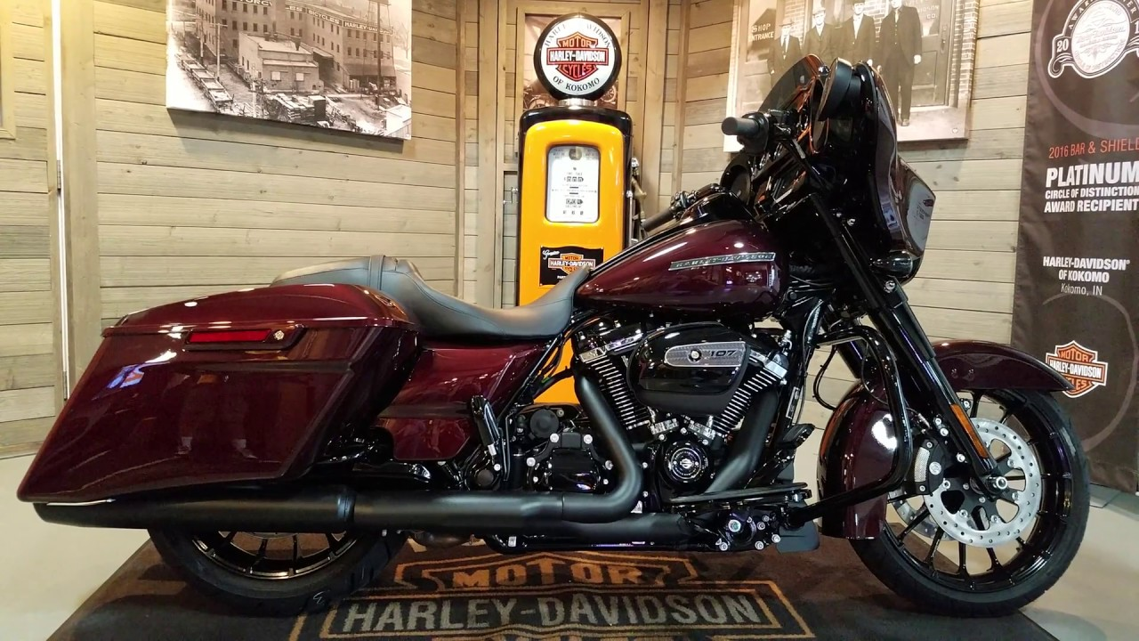 Harley Road Glide For Sale >> 2018 Harley Davidson Street Glide Special FLHXS twisted cherry - YouTube