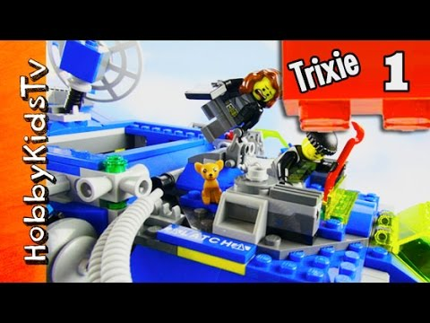 Trixie In Space Part 1 Pizza Planet Zurg by HobbyKidsTV