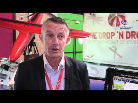 Arnaud le Maout - Airborne Concept parmi les French Aerospace au Bourget
