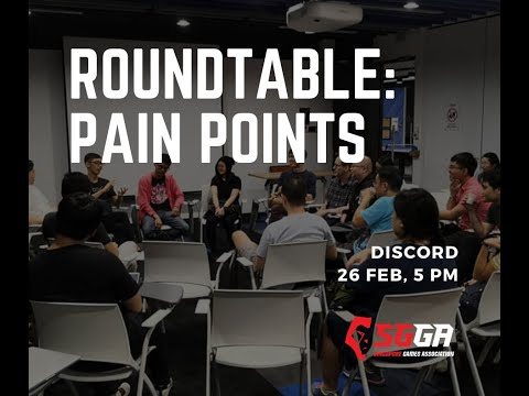 SGGA Roundtable - Pain Points of the Industry
