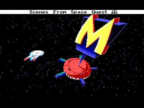 Space Quest III (Non Playable Demo from Leisure Suit Larry 2) |