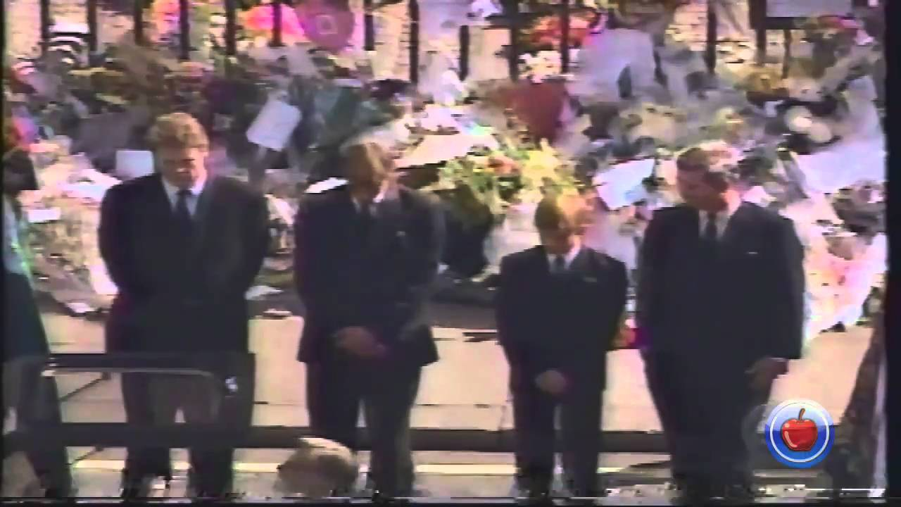 princess diana funeral amp procession video 8   youtube