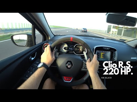 Renault Clio R.S. Trophy 220 HP | 4K POV Test Drive #108 Joe Black