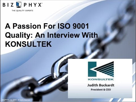 A Passion For ISO 9001 Quality: An Interview With KONSULTEK