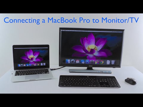 How to Connect a MacBook Pro to a TV or Monitor