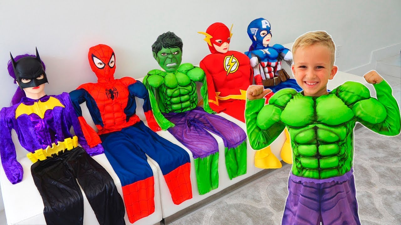 Download Vlad became a superheroes and helps his friends