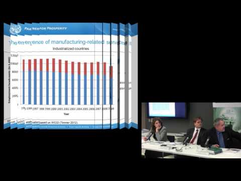Dr Ludovico Alcorta - Sustaining employment growth: The role of manufacturing and structural change