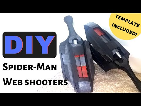 Spider-Man Web Shooters | Cardboard DIY with Template