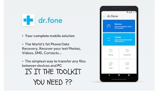 Dr.Fone!! Transfer Files Wirelessly Between PC And Mobile!