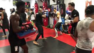 Striking at Brooklyn Mixed Martial Arts
