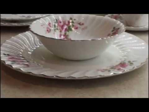 Johnson Brothers Snow White Regency Ironstone Dinner Set Made In England
