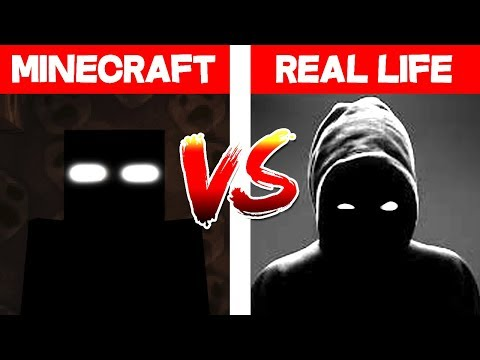 MINECRAFT NULL IN REAL LIFE! Minecraft Vs Real Life