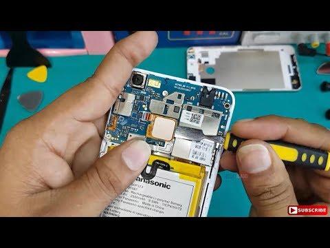 Panasonic Eluga I5 Disassembly    Tear down    How to Remove Panasonic Eluga I5 Battery