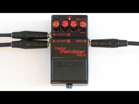 Pepe - BOSS MZ-2 Digital Metalizer Demo