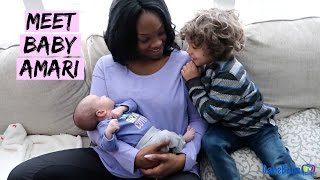 MEET BABY AMARI!!