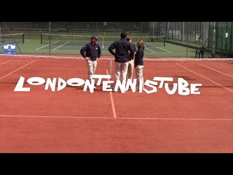 British Tour Tunbridge Wells Men's Final: Tom Hands v Michael Shaw ( With Interview at the end )