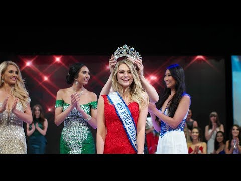 Miss World Canada 2017 Crowning Moment
